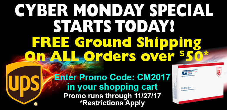 Cyber Monday Free Shipping Offer