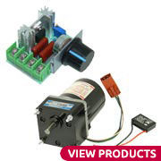 Motors & Components, Electronic | MPJA COM