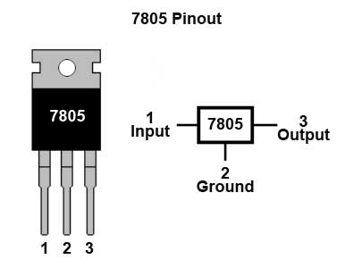 24vac To 5vdc Conversion moreover Motor driver 2 together with Alimentation Regulateurs furthermore RPi 5V PSU construction as well 7805 Datasheet. on 7805 voltage regulator circuit diagram