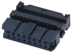 Pack Of 2 Phoenix Contact Heavy Duty Power Connectors Female B16 16P IDC