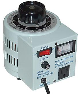 500VA 0-130VAC Variable Power Transformer