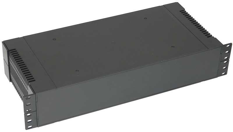 2U 19 Rack Mount Case ABS Plastic
