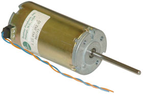 12VDC Motor with Long Shaft, Used