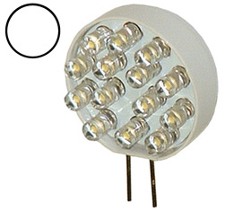 Bi-Pin G4 LED Lamp, 12V White