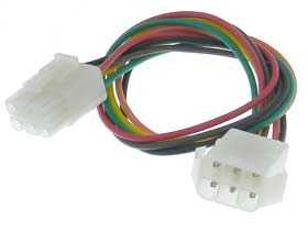 17862 6 round pin latching mating wiring harness mpja com 6 prong wiring harness at n-0.co