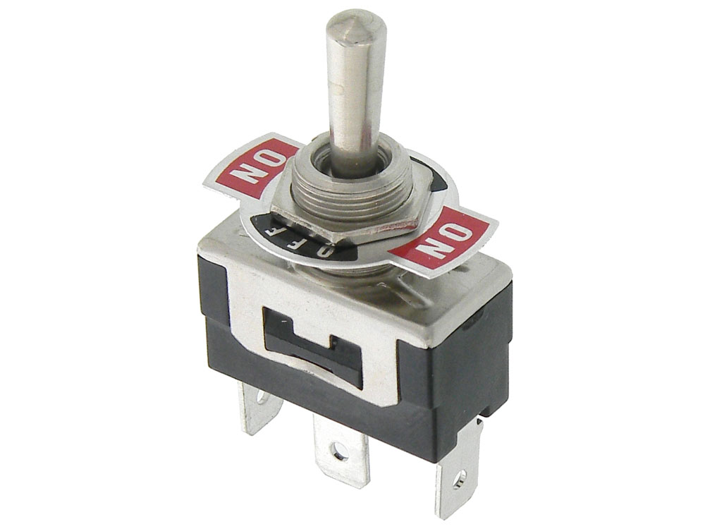 Quick Connect SPDT (Mom)-Off-(Mom) Toggle Switch