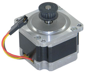 Stepper Motor, NEMA 23, .6 Ohm