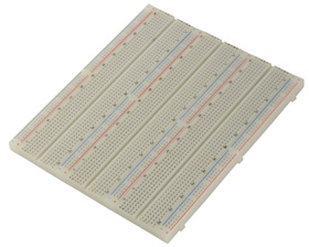 2290 Tie Point Solderless Breadboard, Unmounted