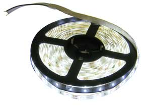 5m white led lighting strip 12vdc indoor outdoor mpja com
