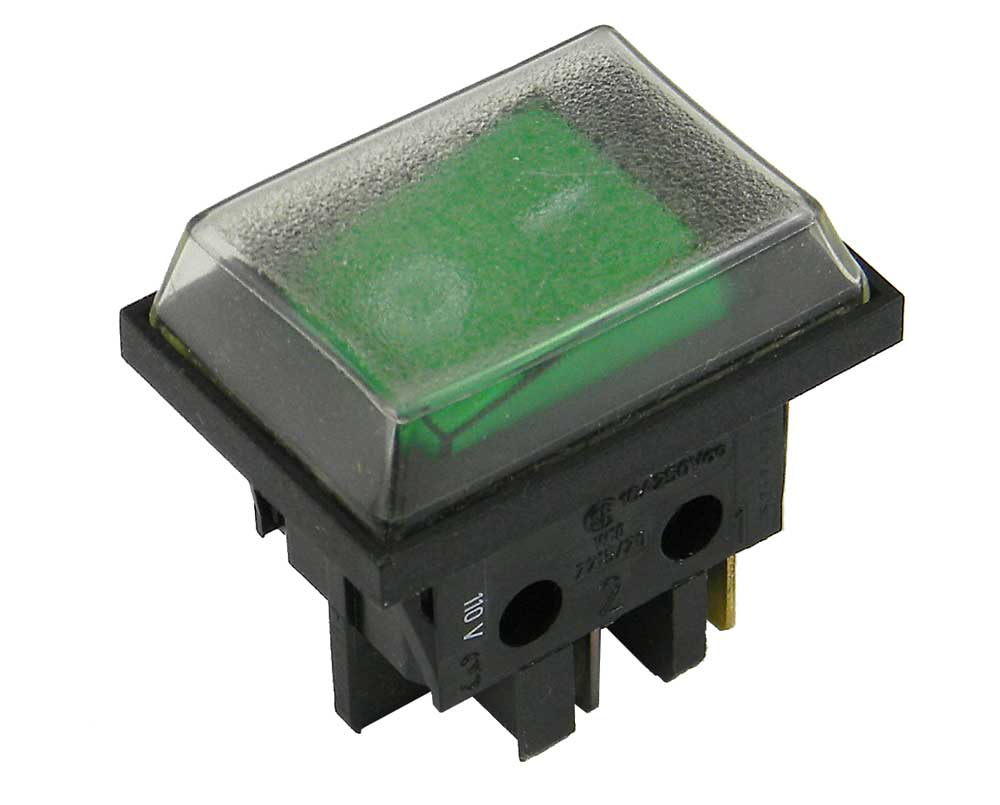 DPST Rocker Switch, with Dust Cover | MPJA.COM