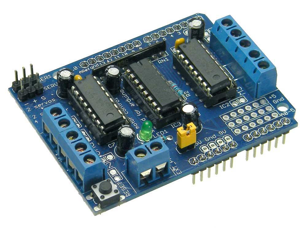 Multi Motor Drive For Arduino Compatible Shield Mpja Com