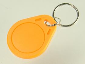 RFID/NFC MIFARE Keyfob, Yellow