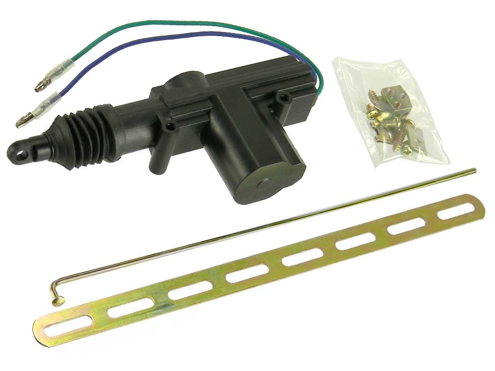12v auto door lock actuator solenoid mpja com for Door actuator