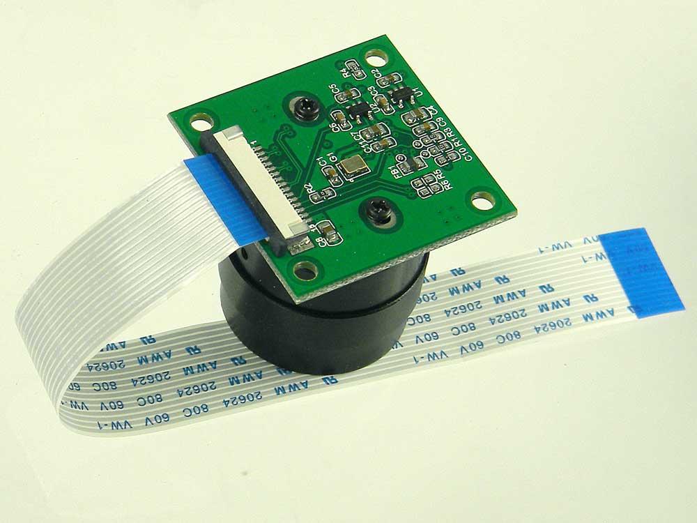 Camera Module 5M Pixel for Raspberry-Pi, C/S Mount Lens