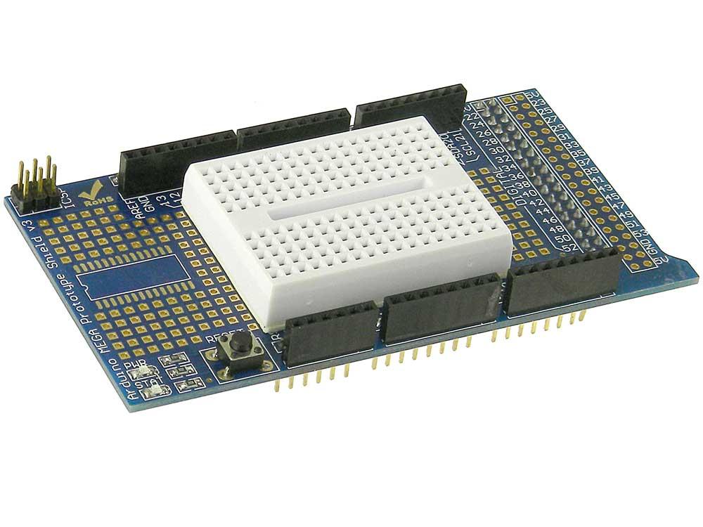 Prototyping shield arduino mega 180 2560 mpja com Arduino mega 2560 motor shield