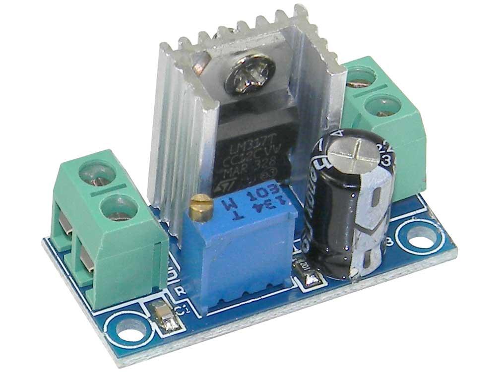 adjustable dc voltage regulator module lm317 mpja com rh mpja com