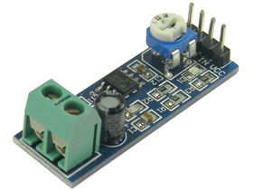 LM386 200 Gain Audio Amplifier Module