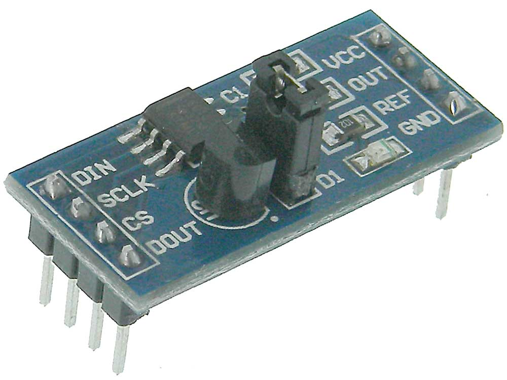 10Bit Serial DAC Module with Voltage Out & Vref for Arduino