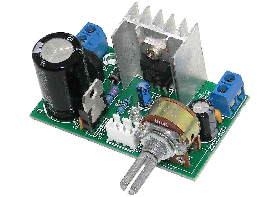 voltage regulator module adj ac dc input mpja com rh mpja com