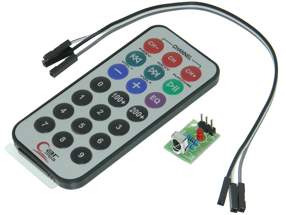 I/R Remote Control Pair for Arduino
