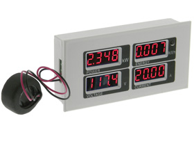Panel Meter, AC Multi-Function, AC80-260V 100A/22000W