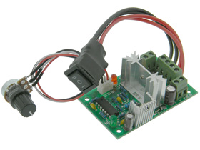 DC Motor Control with Reversing Switch