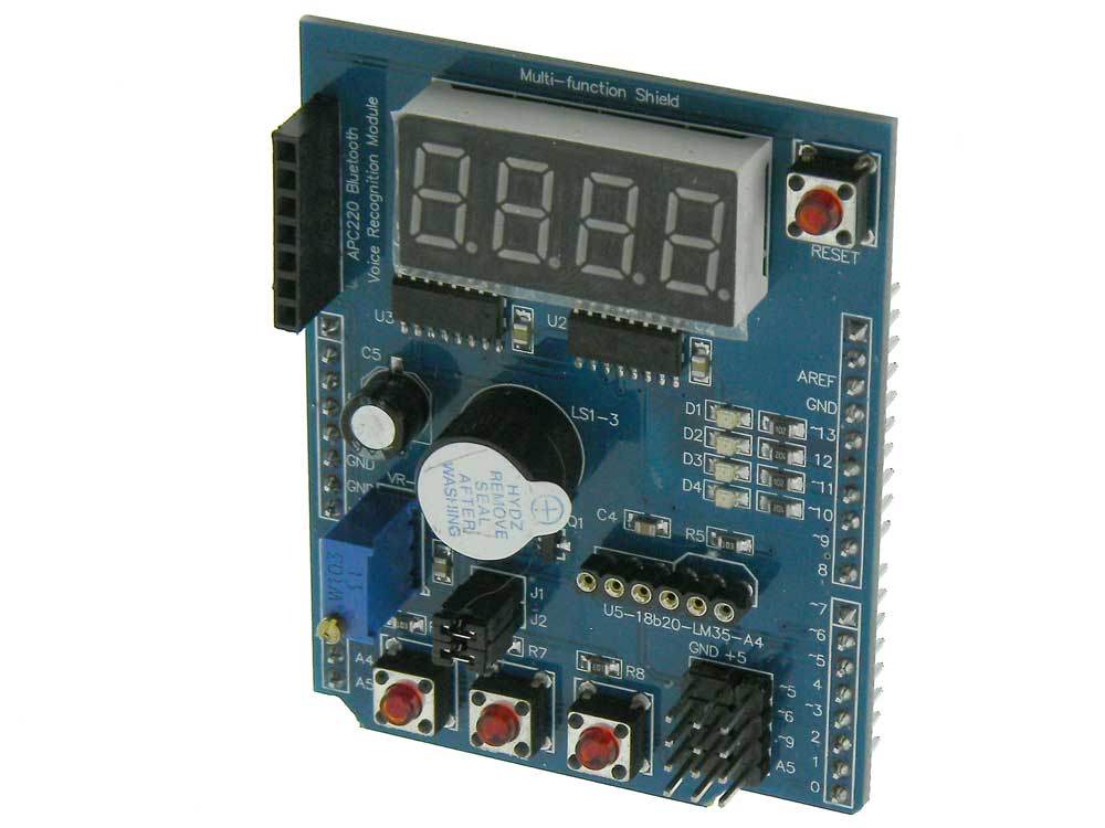 Arduino UNO Multifunction Shield