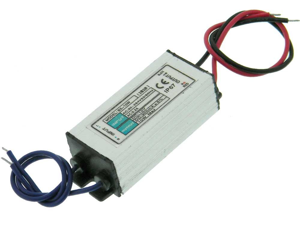 10w led driver 90 264vac input mpja com10w Dc 7 12v 3 Series 3 Parallel 900ma Led Driver Power Supply #19