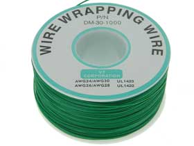 Wire Wrap Wire Green 30 Awg Hook Up Wire Mpjacom