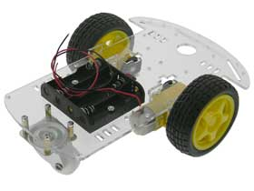 Basic Car or Robot Chassis Kit for Arduino
