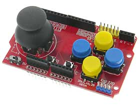 Arduino Joystick Shield With Pushbutton Switches