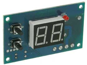 12VDC Recycle Timer/Relay Adjustable