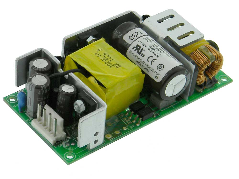 24 Volt Power Supply 2.7A, Switching, 33786 Large ...