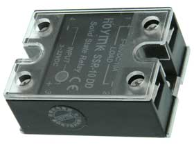 10A DC Solid State Relay. DC Control Input