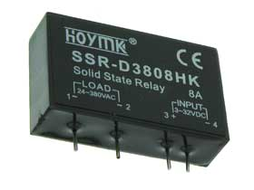 8A. 24-380VAC Solid State Relay