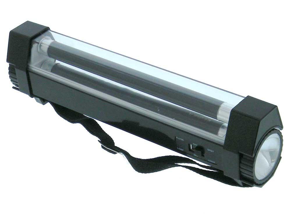 Uv fluorescent lamp white led flashlight mpja