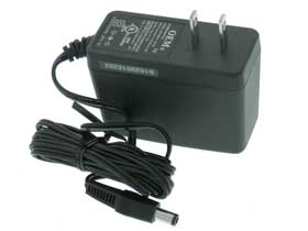 12 Volt 1.5A DC Plug Power Supply. OEM