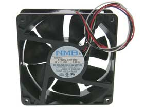 12VDC 120mm Square X 38mm Box Fan NMB 4715KL-04W-B49