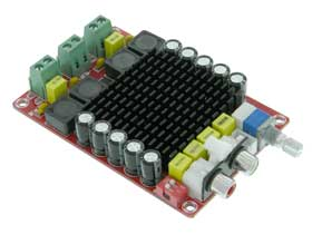 Dual 100W Class D Amplifier Module, TDA7498