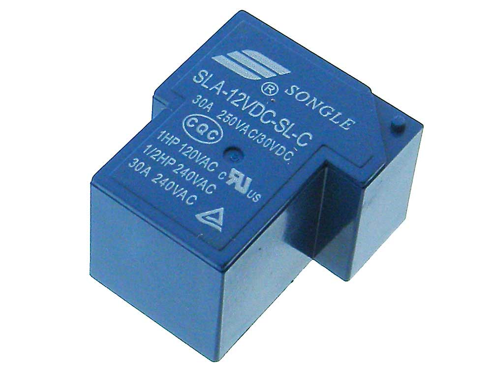 12VDC SPDT 20A Appliance Relay Songle