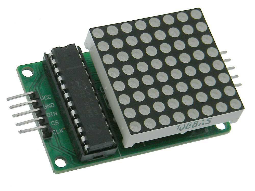 8X8 Red Programmable LED Matrix