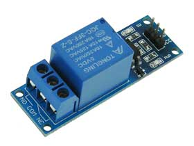 Single 5V SPDT Relay Board for Microcontrollers