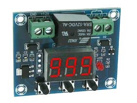 Mini Count Down  Relay Timer 1-999min