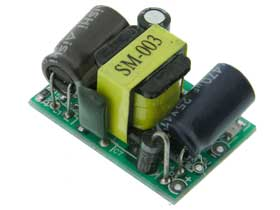 12 Volt Power Supply, 400mA, 5W, Switching