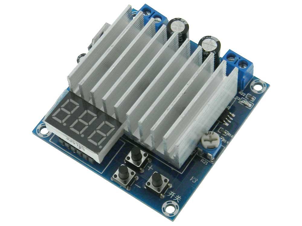 Adjustable Voltage Regulator 0 2-12V