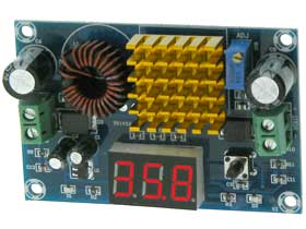 5Amp Max Boost Converter Adjustable 5-45V Output