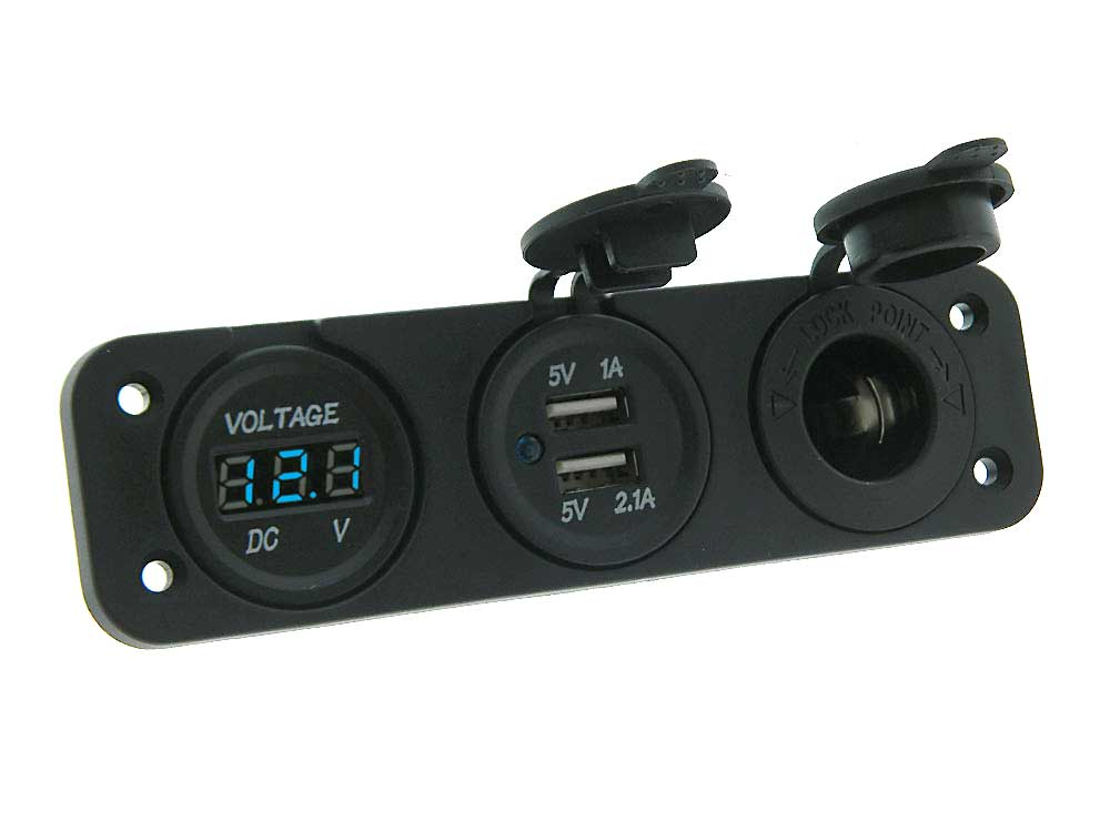 Pleasant Boat Accessory Power Panel For 12Vdc Mpja Com Wiring Cloud Tobiqorsaluggs Outletorg