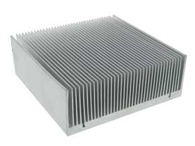 High Power Aluminum Heatsink, 4-7/8