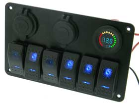 Distribution Panel for Auto/RV/Boat