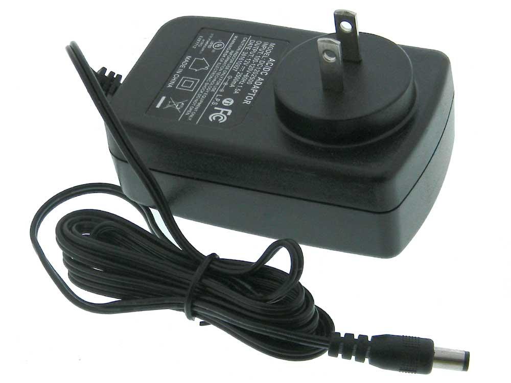 12 Volt DC Plug Power Supply, 2 5A, USED